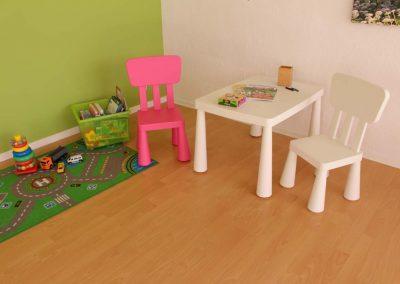 Kinder-Wartebereich